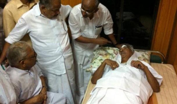 21 taken in custody for attack on Chandy