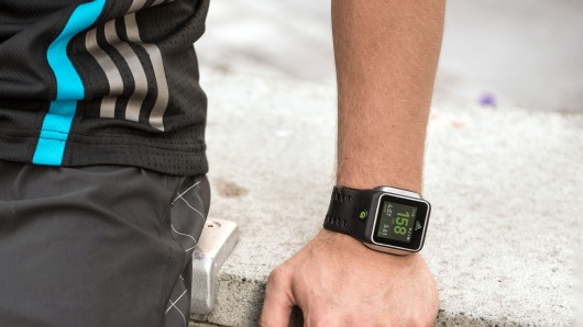 Adidas unveils smartwatch with built-in heart monitor