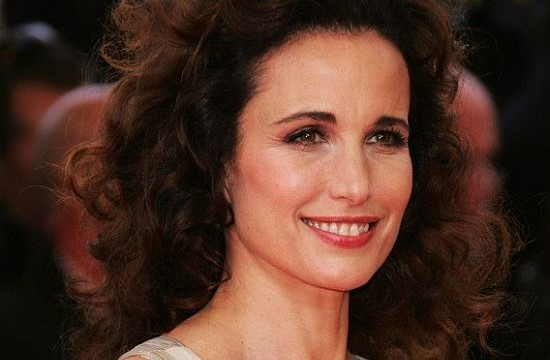 I'm not a pushy parent: Andie Macdowell