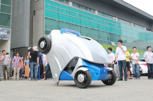 Now, Armadillo-inspired foldable electric car to ease your parking woes!