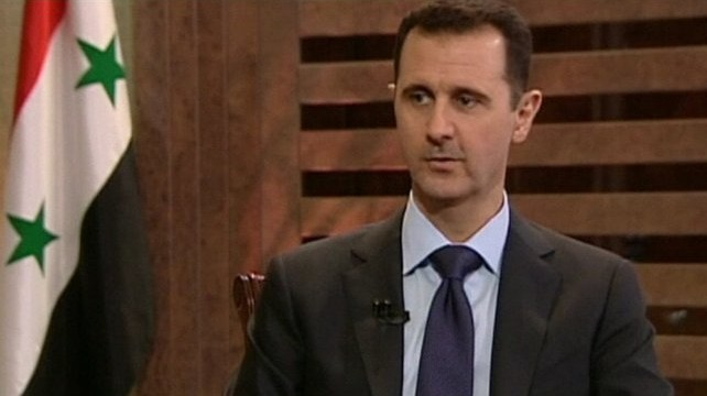 Syria's future must be determined by Syrians: Assad