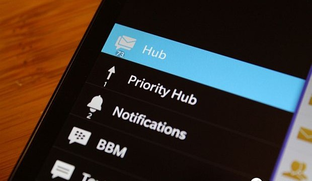 BlackBerry rolls out updated OS 10.2 with Priority Hub and improved notifications