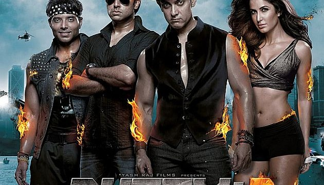 'Dhoom III' breaks box office records 129 crore in four days