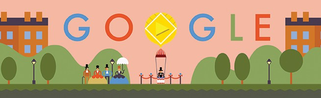 Google Doodle celebrates 216th anniversary of world's first parachute jump