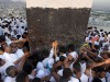 Haj enters final stage with stoning ritual