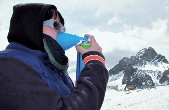High altitude sickness can be detected before physical symptoms appear