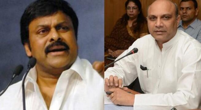 Cabinet nod to Telangana: Chiranjeevi resigns, Pallam Raju offers to quit