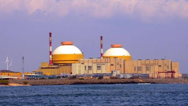 Kudankulam n-plant stops power generation