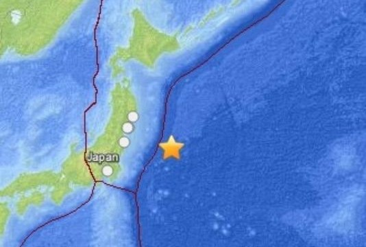 Magnitude 5.5 earthquake strikes off Japan's east coast: USGS