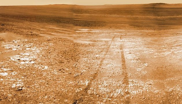 Mars rover Opportunity begins mountain climbing