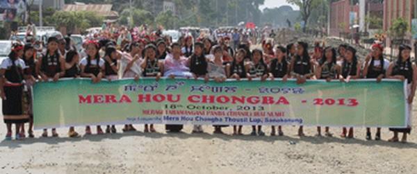 Ethnic communities of Manipur celebrate Mera Hou Chongba Festival