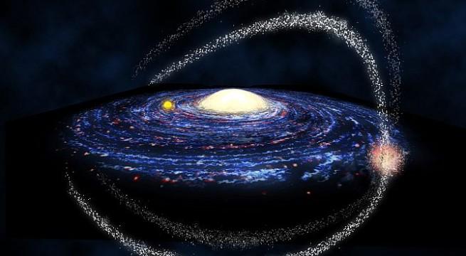 Milky Way galaxy `wobbles`