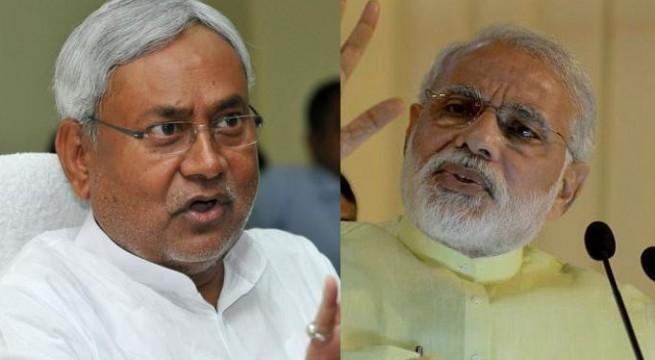 Stop lying, Nitish tells Modi