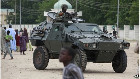 Nigerian militants raid northern city of Damaturu