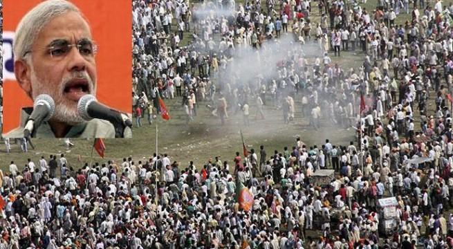 Patna blasts an act of terror,and a conspiracy to kill Narendra Modi, says BJP