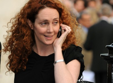 Former News International chief Rebekah Brooks on trial