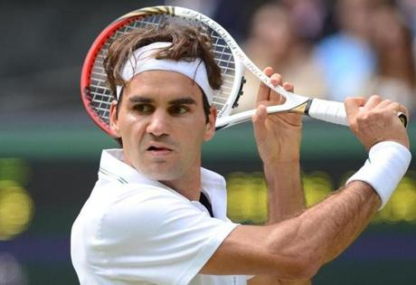 Federer beats Dimitrov in straight sets to move into Swiss Indoors semifinals