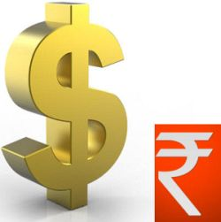 Rupee up 5 paise at 61.95 against the dollar