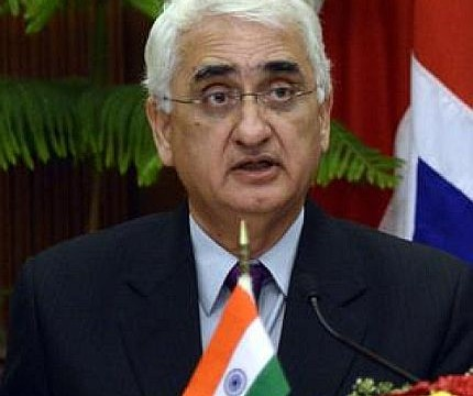 PM's message to Sharif a reflection of aspirations, feelings of people: Khurshid