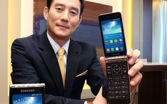Samsung launches Galaxy Golden with dual screen