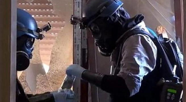 Experts gather in Cyprus to remove Syria's chemical weapons