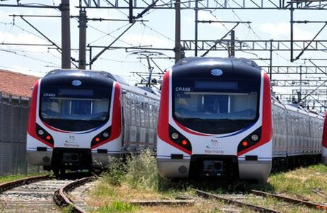 Turkey launches undersea commuter train