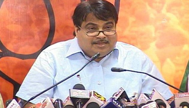 BJP leader Nitin Gadkari accuses Aam Aadmi Party (AAP) of following Maoist ideology
