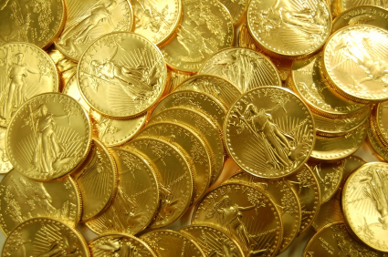 Gold prices gaining by Rs 480 to Rs 32,410 per ten gram
