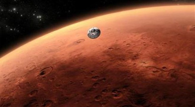 Mars spacecraft crosses sphere of influence of Earth