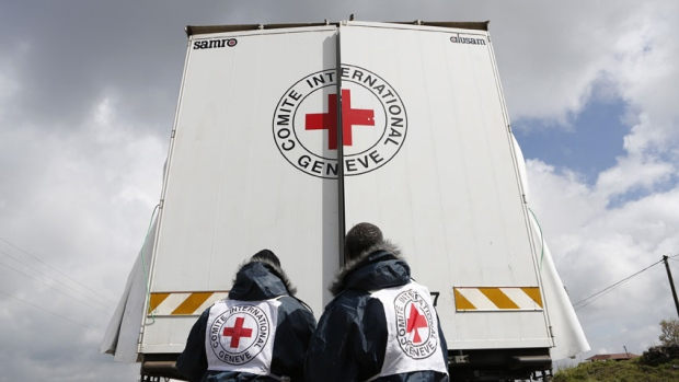 Red Cross workers kidnapped in Syria