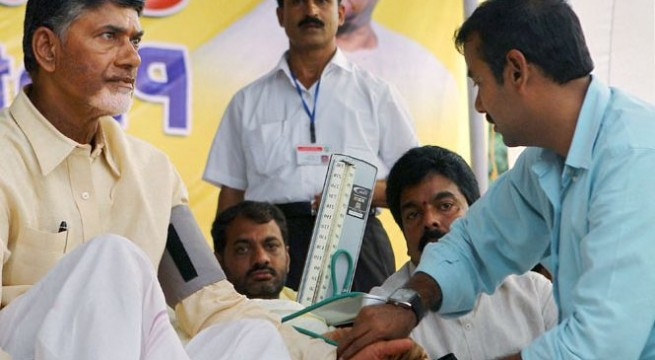 Chandrababu Naidu says he is in favour of Telangana