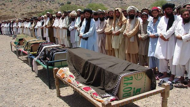 The US has killed civilians in unlawful drone attacks on north-west Pakistan, Amnesty International has said, alleging the Obama administration may be guilty of war crimes.