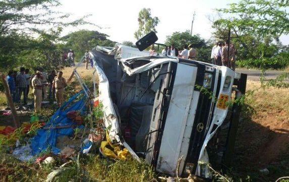 22 killed in Karnataka road accident