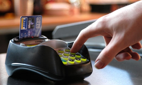 Punching PIN must for debit card transactions from Sunday Dec.1 , 2013