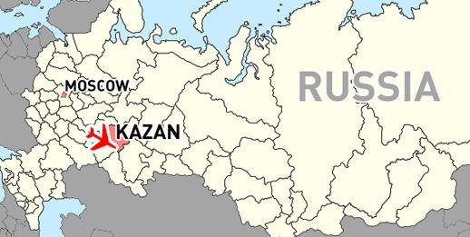 52 killed in Russian plane crash