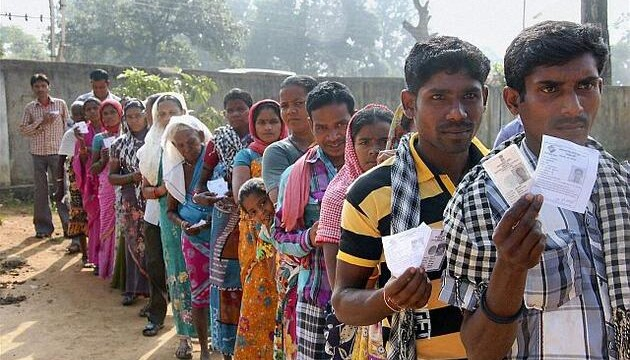 A third of voters cast ballot in Chhattisgarh