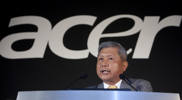 Acer CEO resigns amid $446mln financial loss in Q3