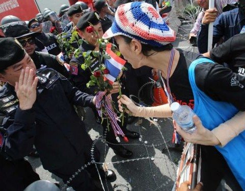 Thai opposition kicks off no-trust debate as street protests continue