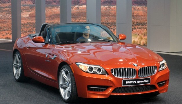 BMW launched the facelifted Z4 roadster car