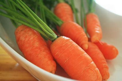 Carrots tipped as new sperm superfood