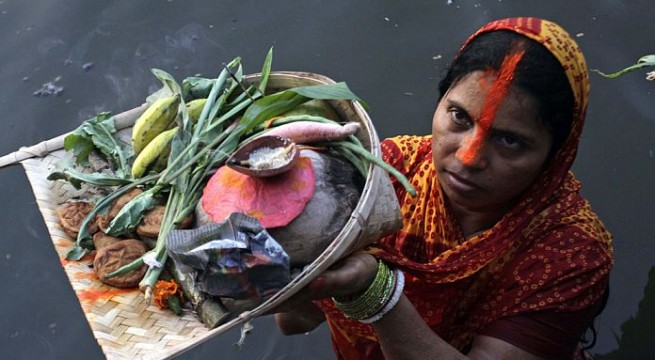 Chhath festival ends peacefully in Bihar