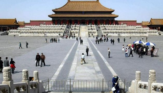 Rocks used to build China's Forbidden City were transported on ice