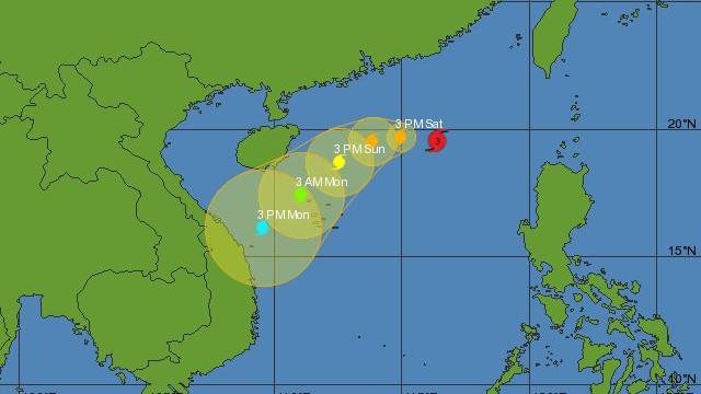 China issues orange alert against Typhoon Krosa