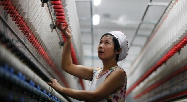 China's manufacturing activity at 18-month high