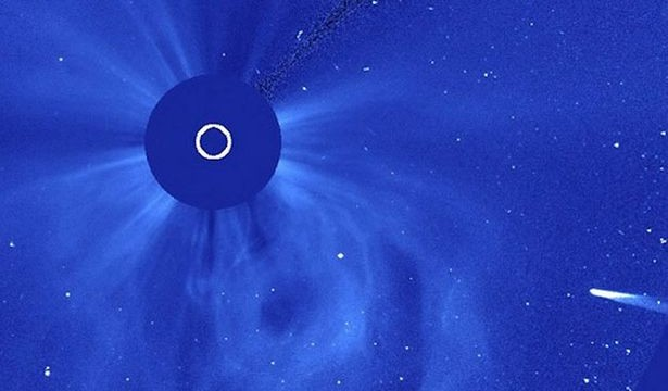 Comet Ison likely destroyed as it passes sun
