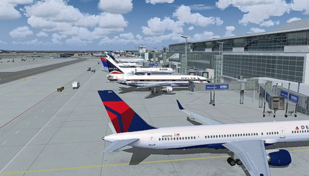Delta and JetBlue become first US airlines to allow gadget-use in-flight