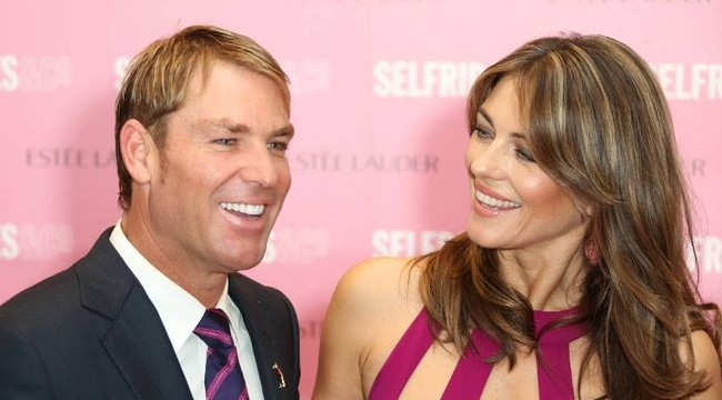 Hurley, Warne to wed soon?