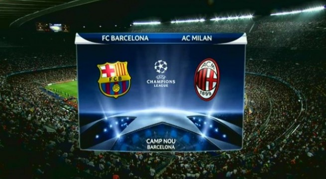 FC Barcelona defeats Milan 3-1 in Champions League