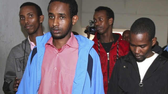 Four men charged with Westgate mall attack appear in Kenyan court
