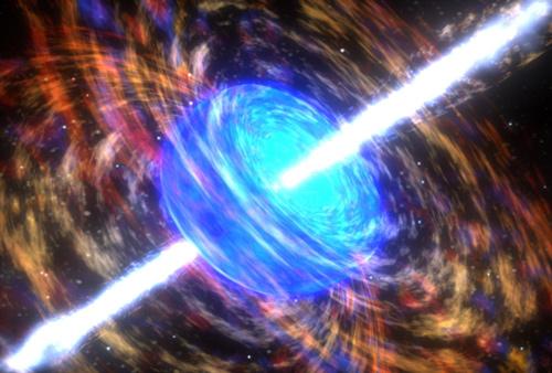 Gamma-ray burst breaks record for biggest cosmic explosion